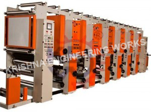 Bopp Adhesive Tape Printing Machine